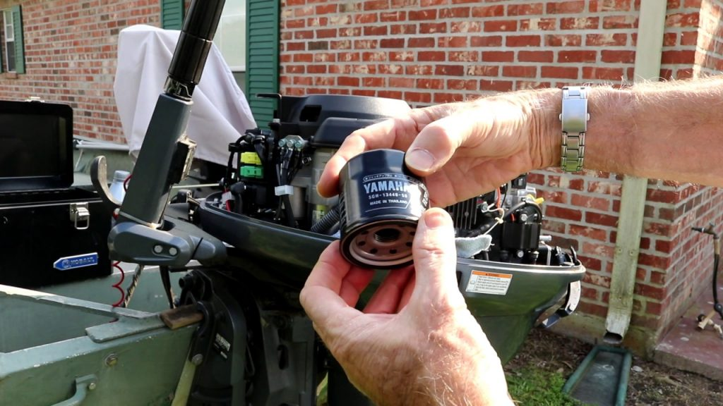 Yamaha 4-Stroke Outboard oil filter